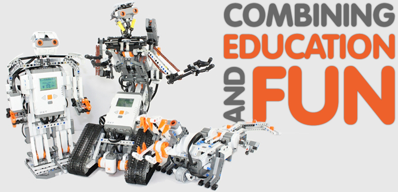 Robots combining education and fun